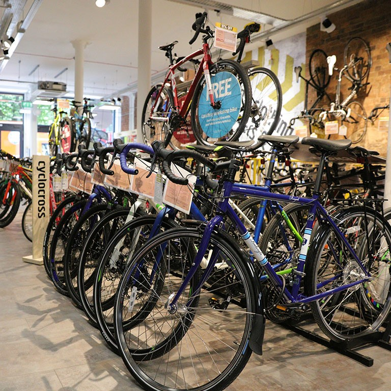 Bikes in store